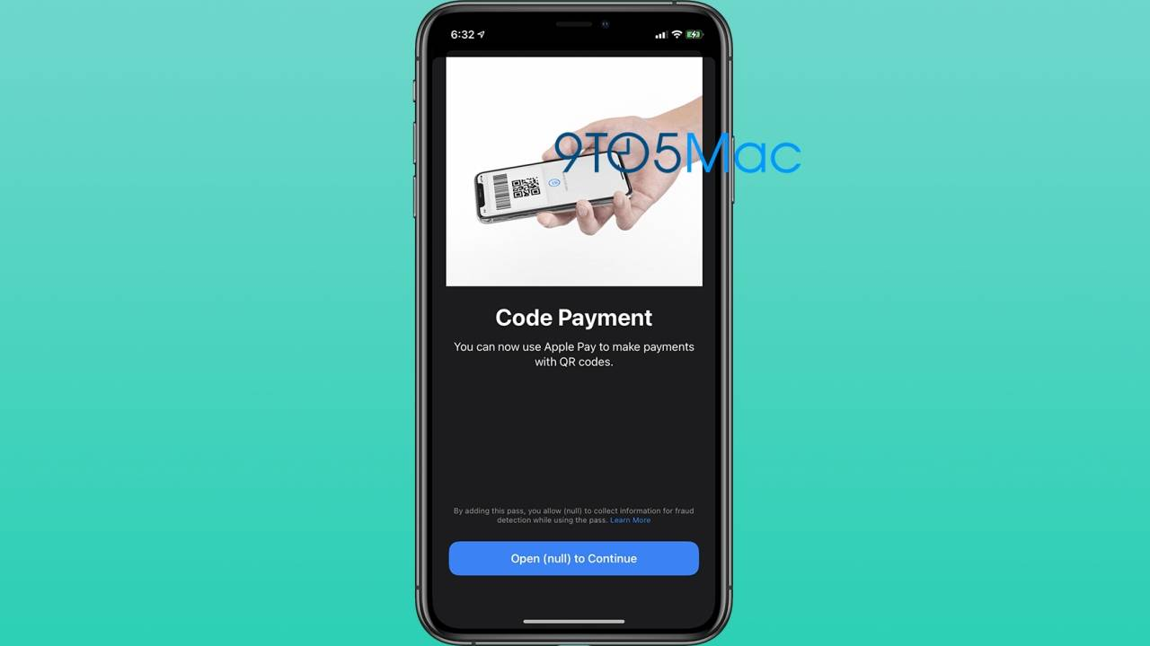 Apple Pay QR code support could be coming soon