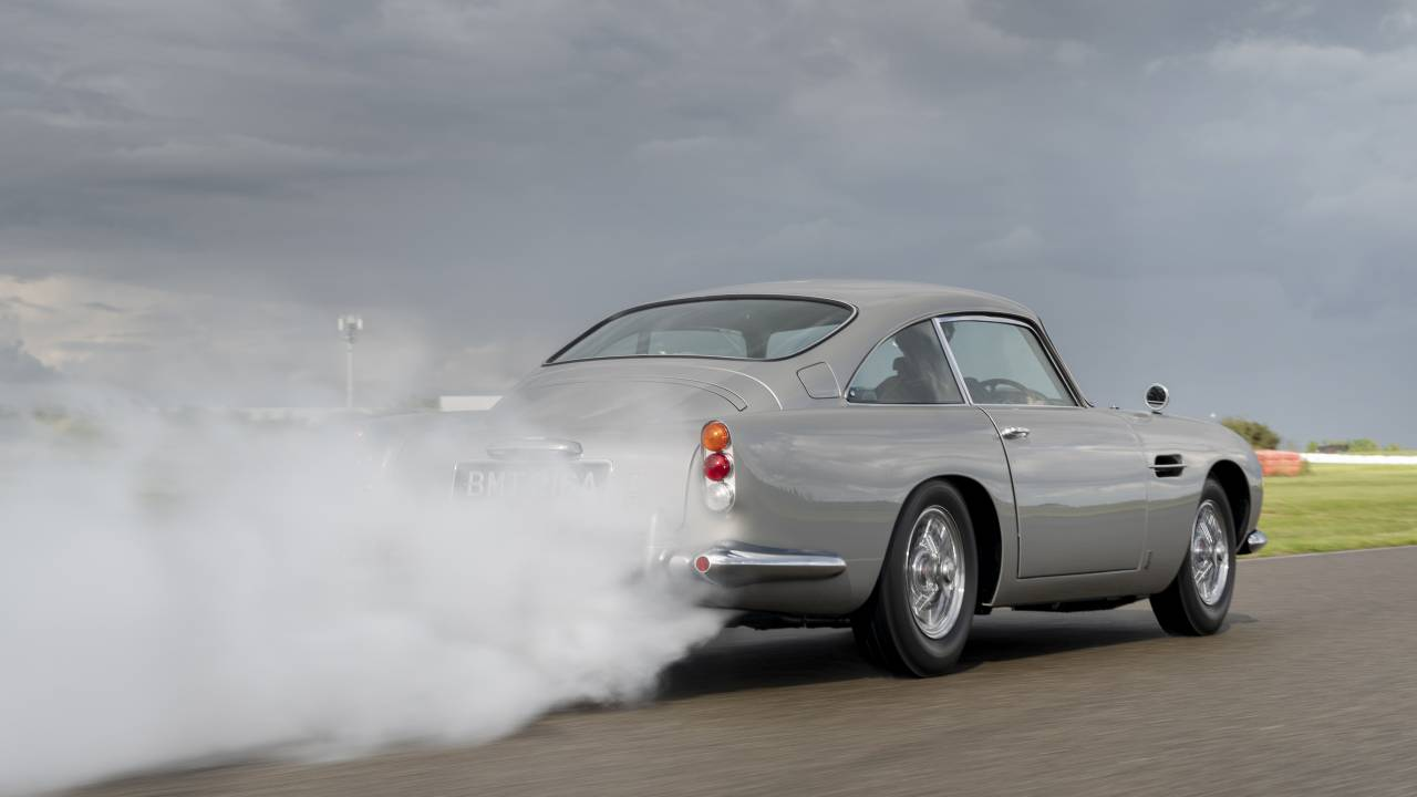 Aston Martin's first DB5 Goldfinger Continuation model is ready for delivery