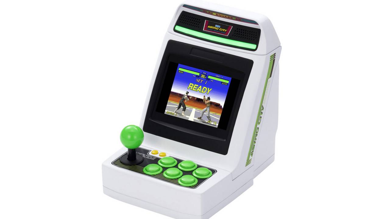Sega Astro City Mini is a retro console for classic arcade games