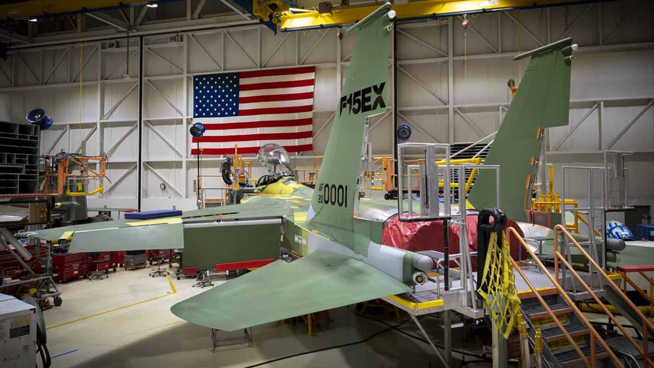 Boeing gets $1.2bn USAF contract to make first F-15EX fighter jets