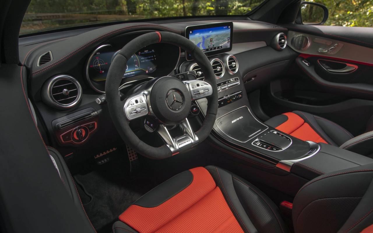 2020 Mercedes Amg Glc 63 S Coupe Review Suspend Disbelief Slashgear
