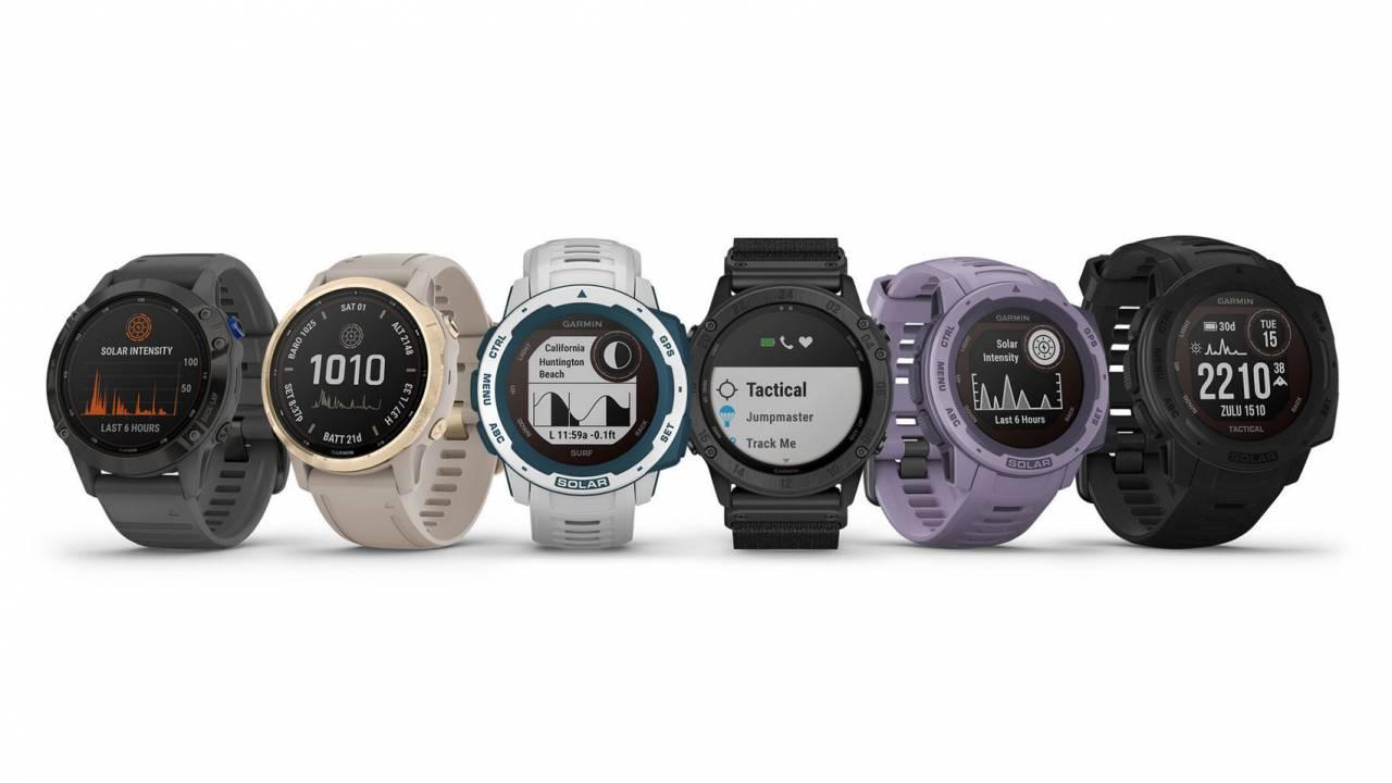 Garmin's new solar-powered watches definitely aren't for the budget shopper