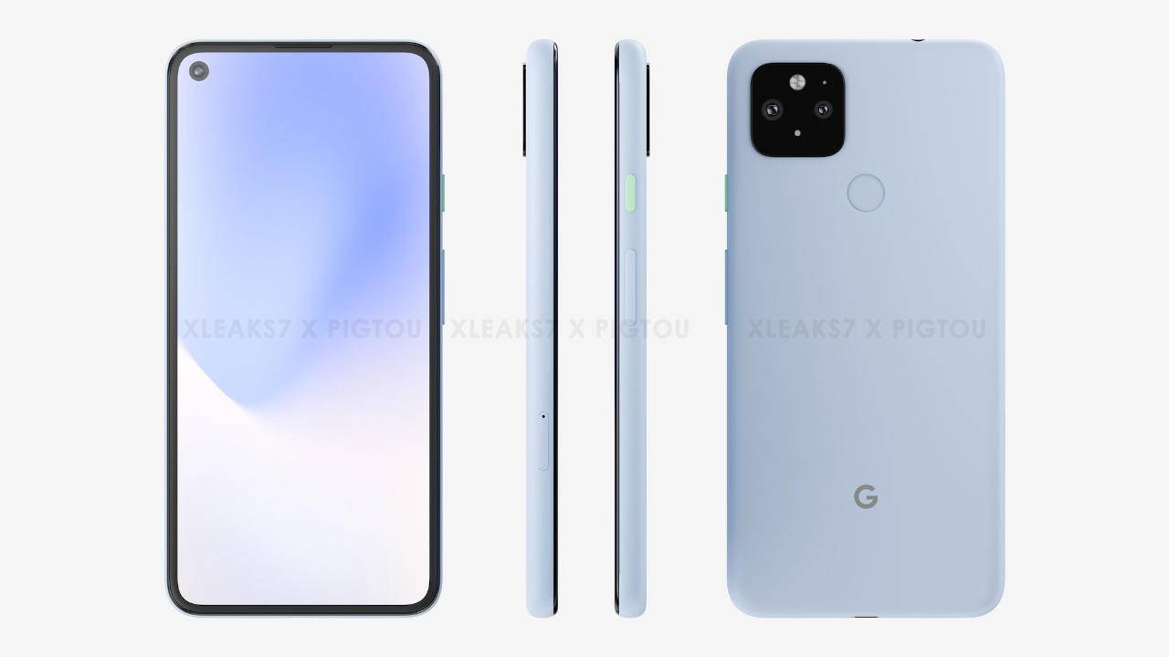 Pixel 5 XL renders appear to add to the confusion