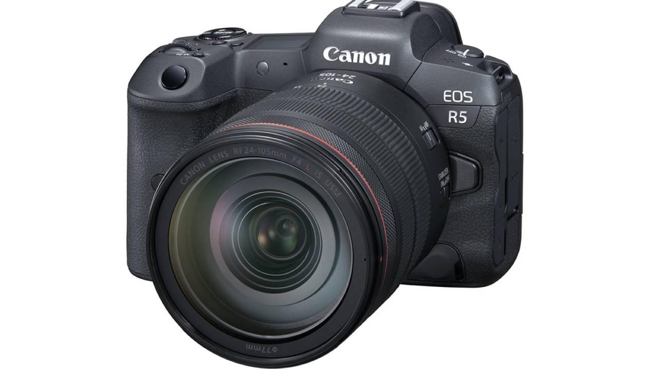 Canon EOS R5 packs 8K into full-frame mirrorless camera