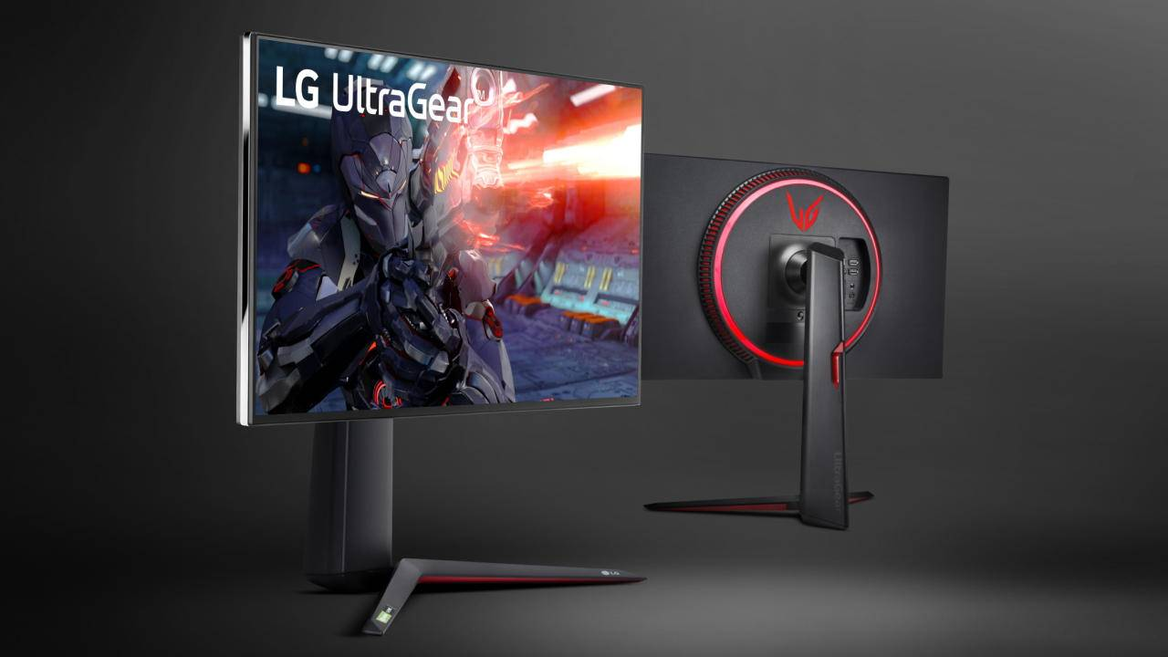 LG UltraGear gaming monitor combines 4K UHD with 1ms GTG speeds
