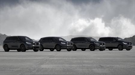 Lincoln announces Monochromatic Package for Corsair, Nautilus, and Aviator
