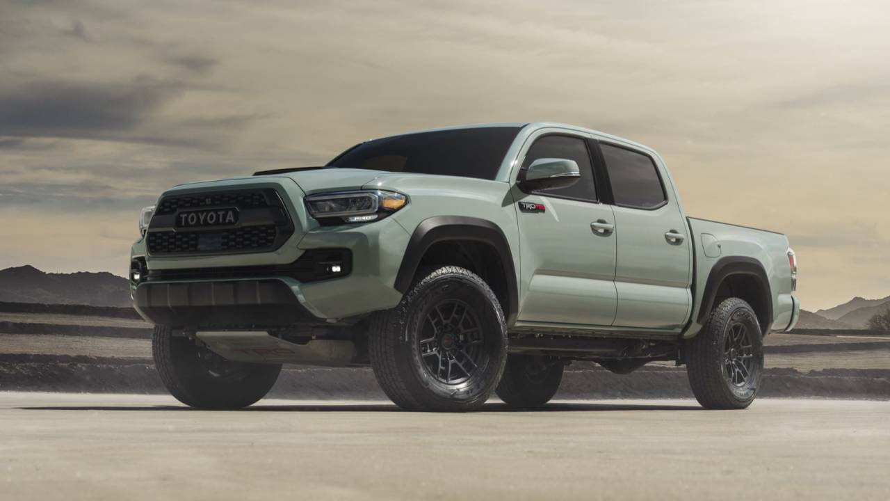 Toyota just gave its 2021 TRD Pro trucks a sweet new paint job