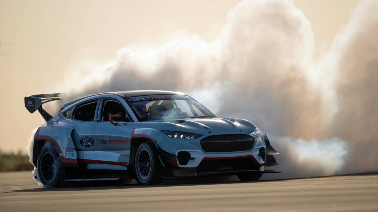 Born to drift: 1,400hp Mustang Mach-E 1400 packs 7 electric motors