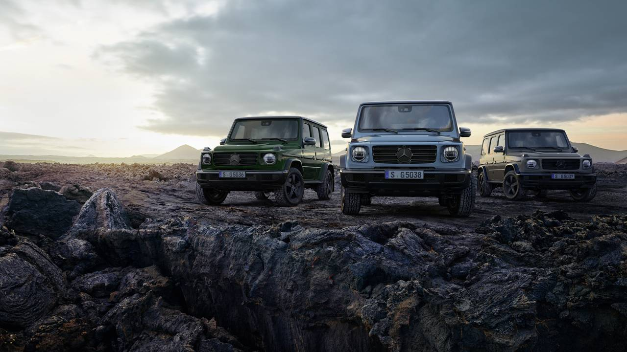 Mercedes-Benz G-Class off-roader gets new equipment and more personalization options