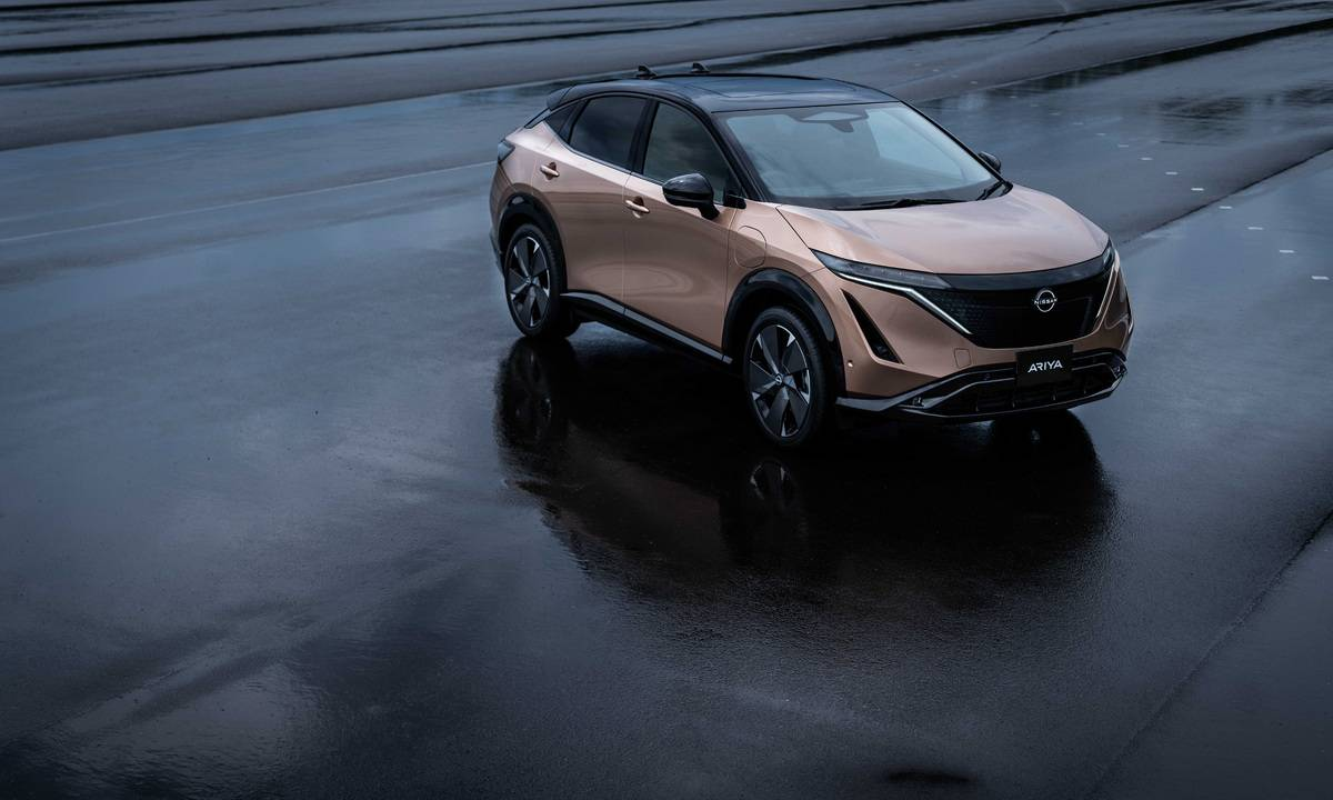 2021 Nissan Ariya EV debuts with up to 300 miles of range