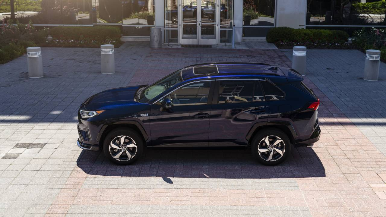 2021 Toyota RAV4 Prime combines sporty performance with sterling fuel economy