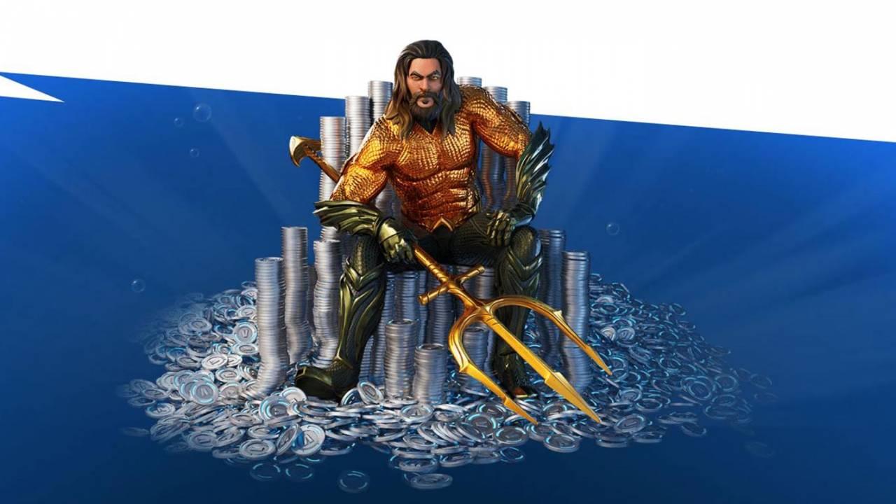 Fortnite bug reveals the layout of Aquaman's Atlantis destination