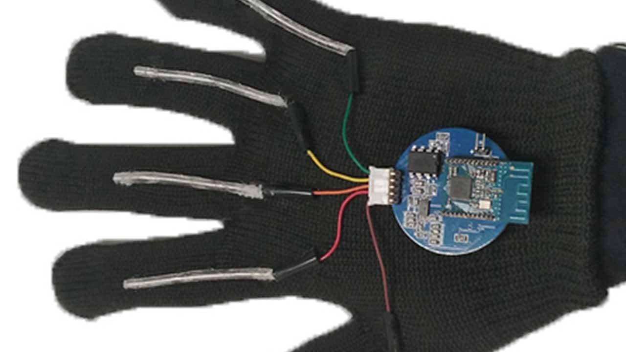 UCLA researchers create a wearable glove that translates sign language in real-time