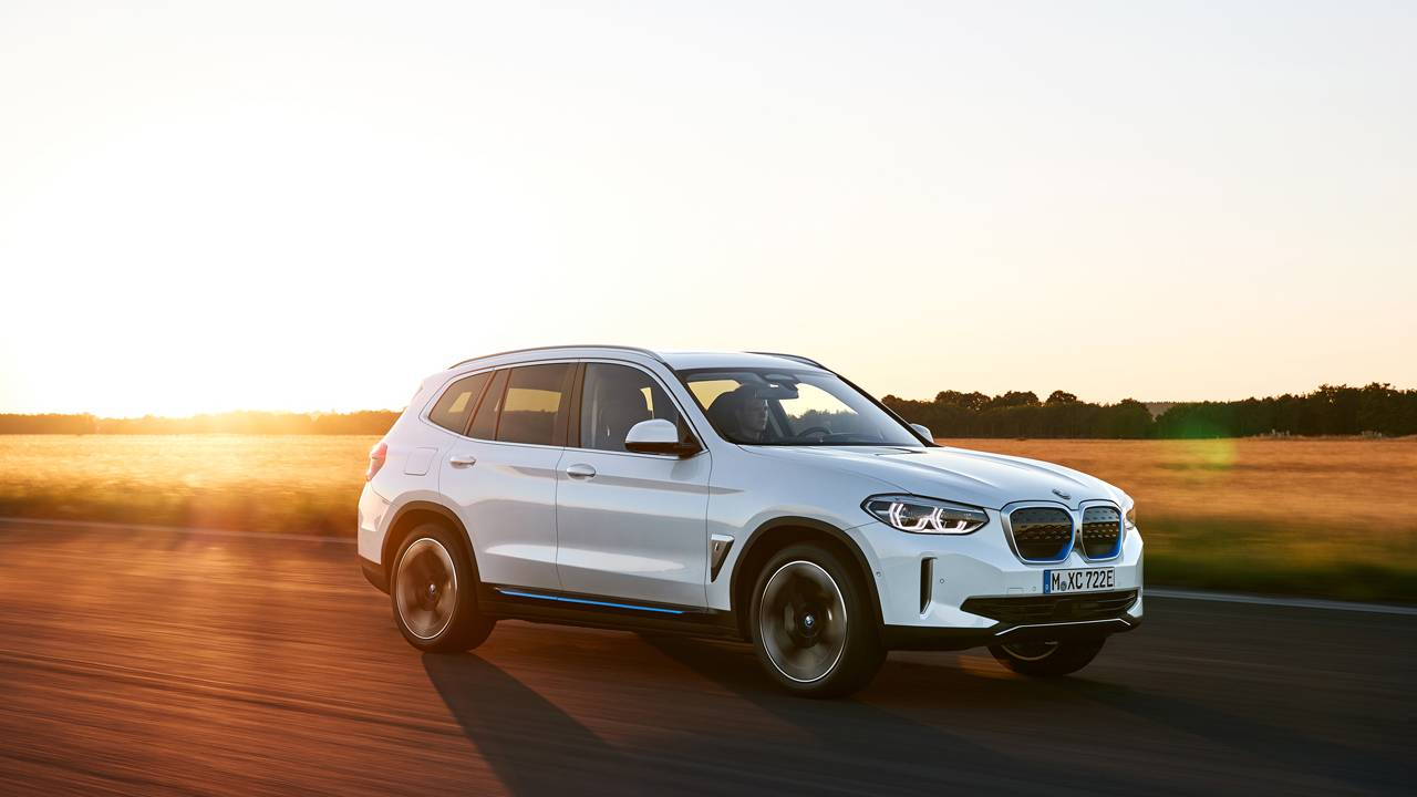 The BMW iX3 is the first BMW Sports Activity Vehicle with all-electric drive