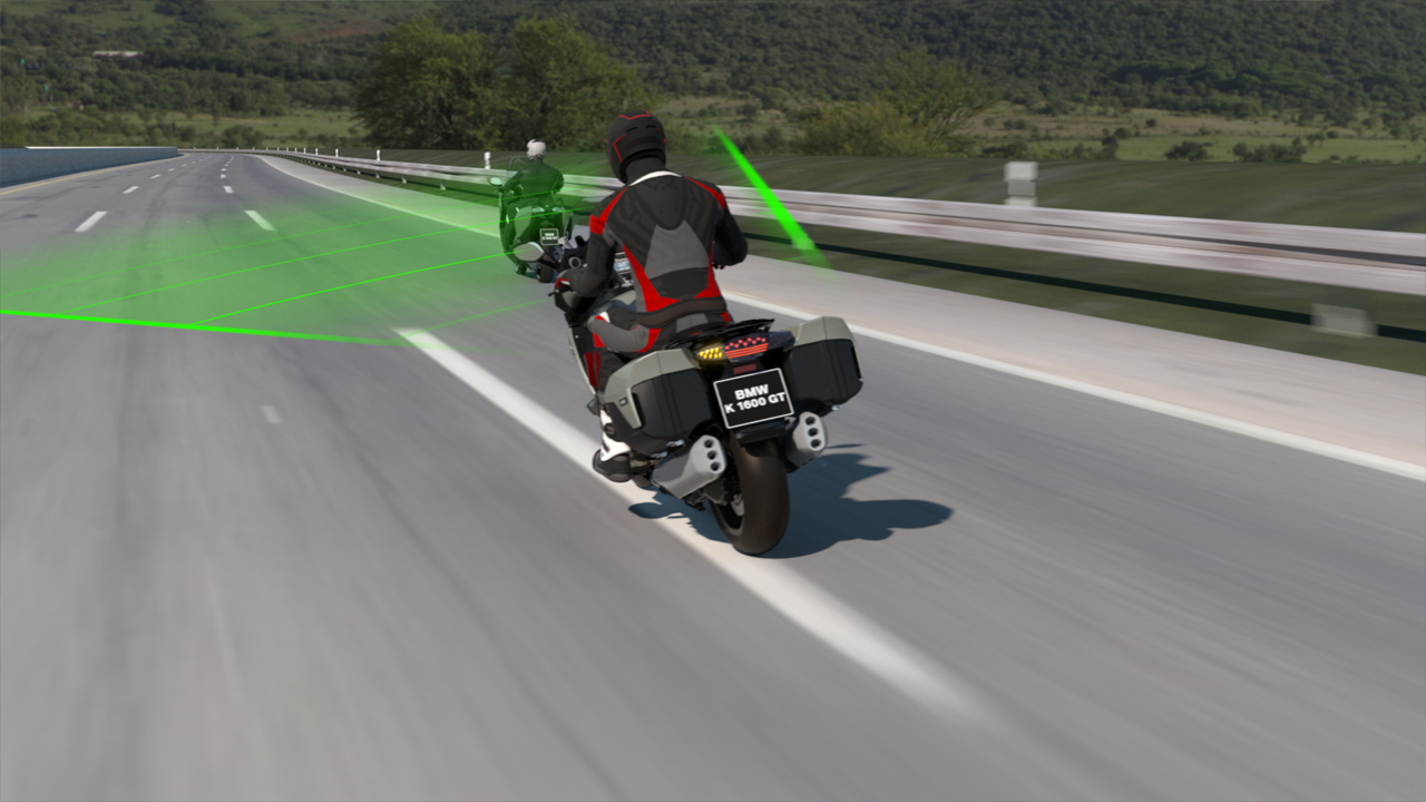 BMW Motorrad Active Cruise Control improves comfort and safety