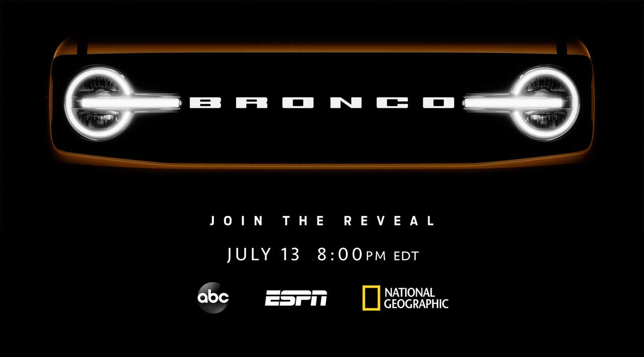 Ford teams with Disney to broadcast the all-new Bronco reveal