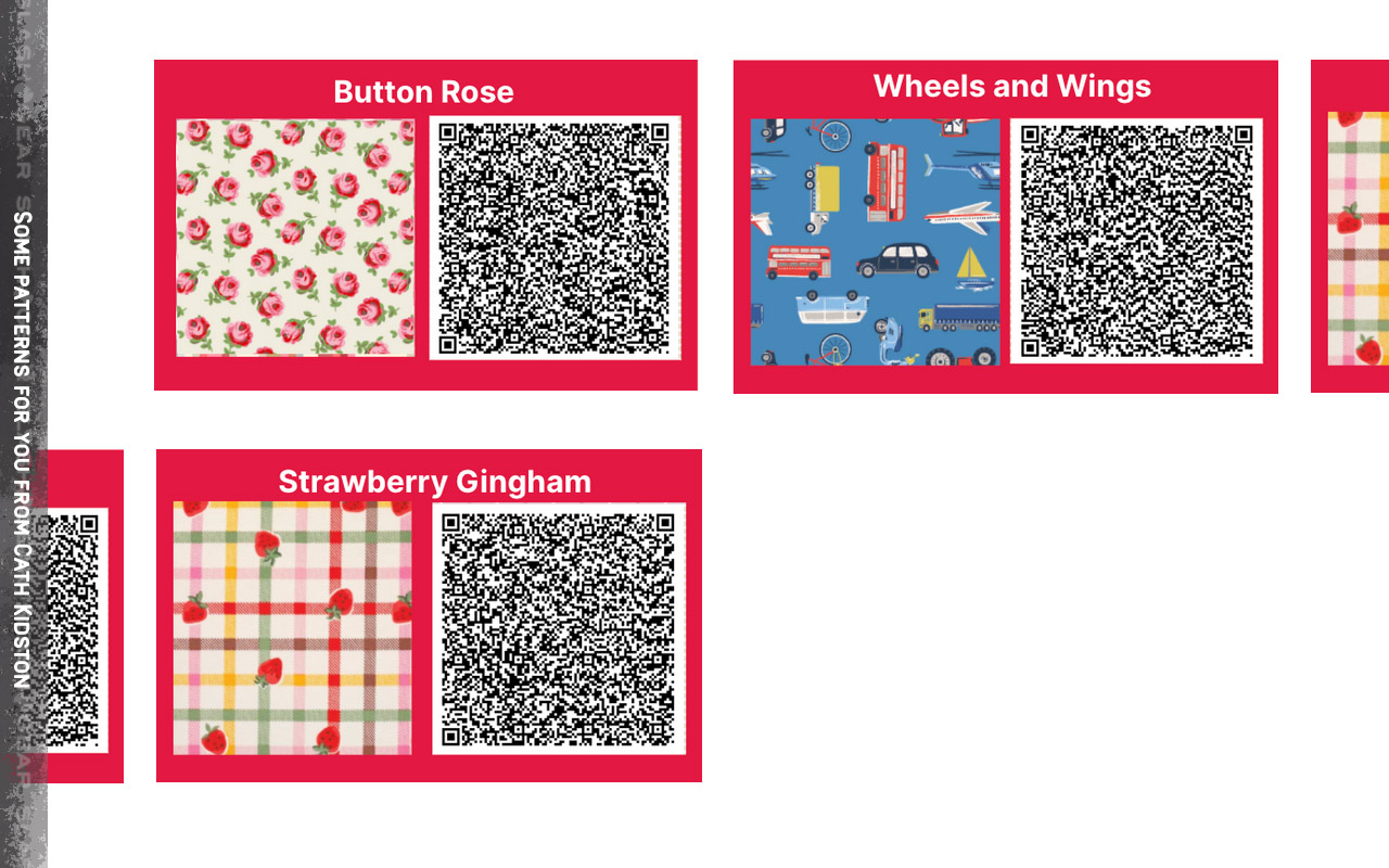 Animal Crossing Gives Cath Kidston Patterns For Free With Qr Codes Slashgear