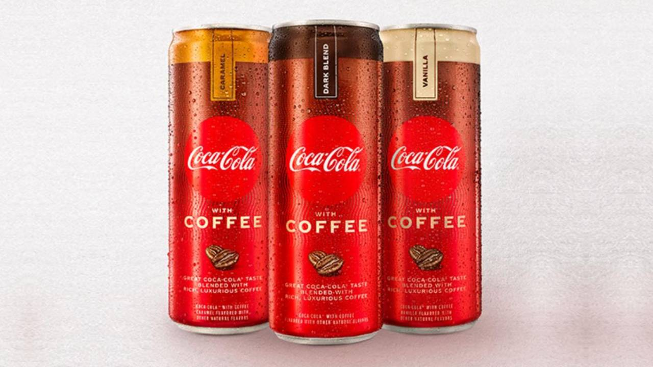 Coca-Cola plans hybrid drink that blends 'authentic' Coke flavor with coffee