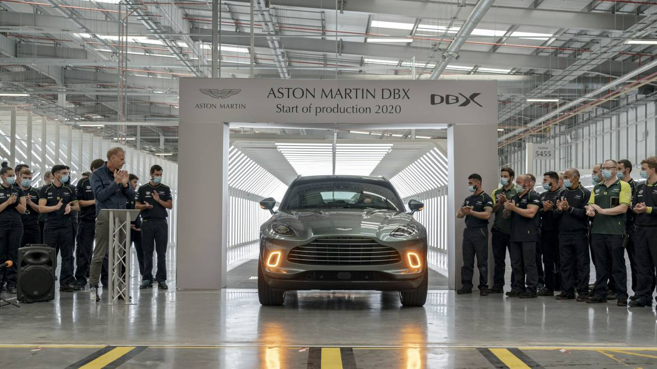 2021 Aston Martin DBX production is finally underway