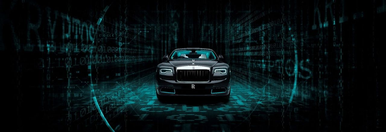 Rolls-Royce Wraith Kryptos Collection is channeling The Matrix vibe