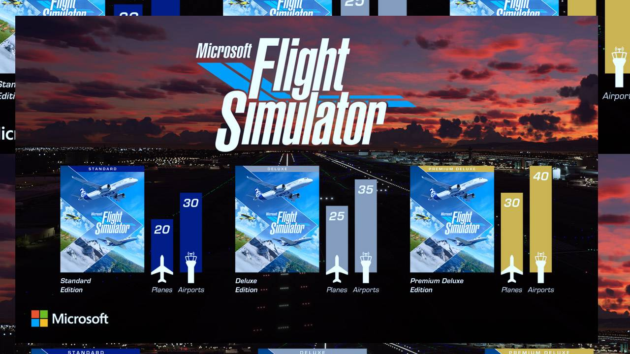 Microsoft Flight Simulator release dates (and Beta) detailed: Planes, places!
