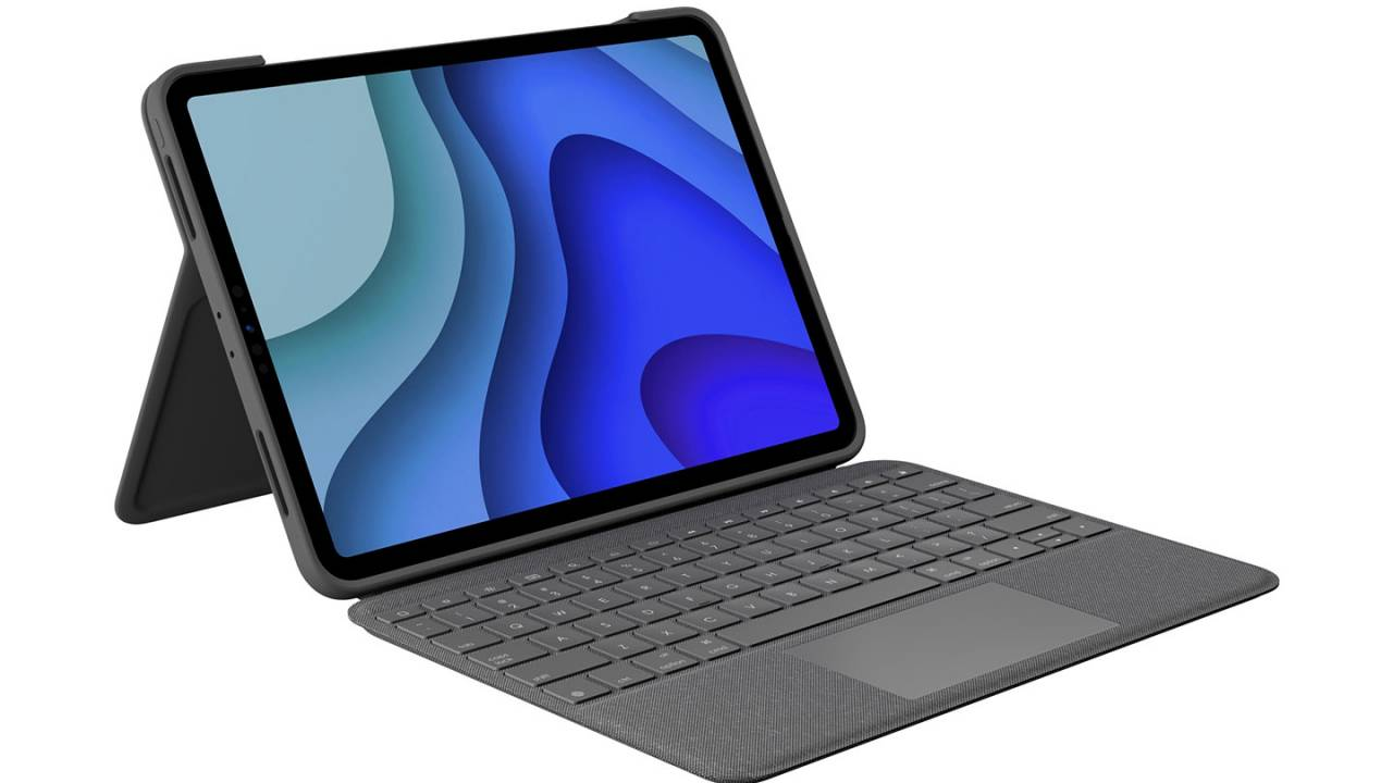 Logitech Folio Touch keyboard case turns iPad Pro into ultra-slim laptop