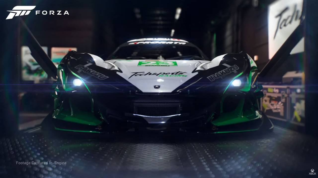 Forza Motorsport confirmed for Xbox Series X in new trailer