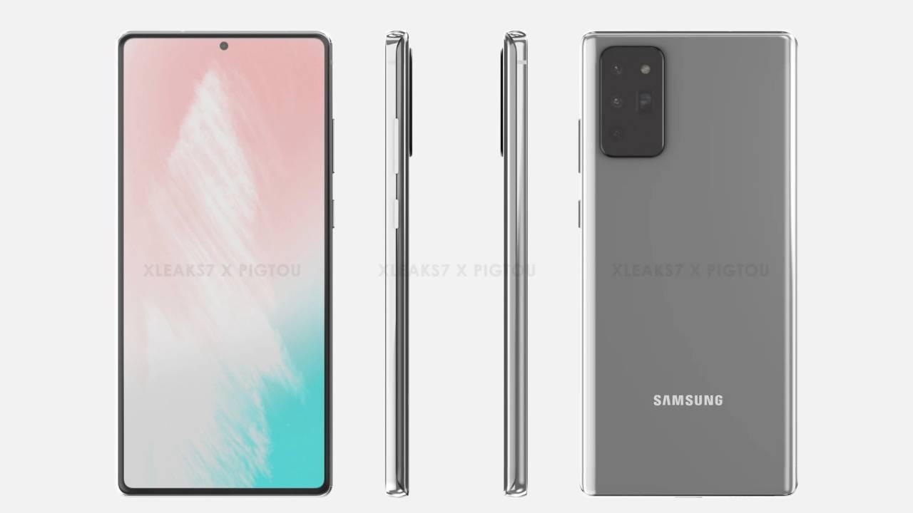 Galaxy Note 20 might be announced one month from now