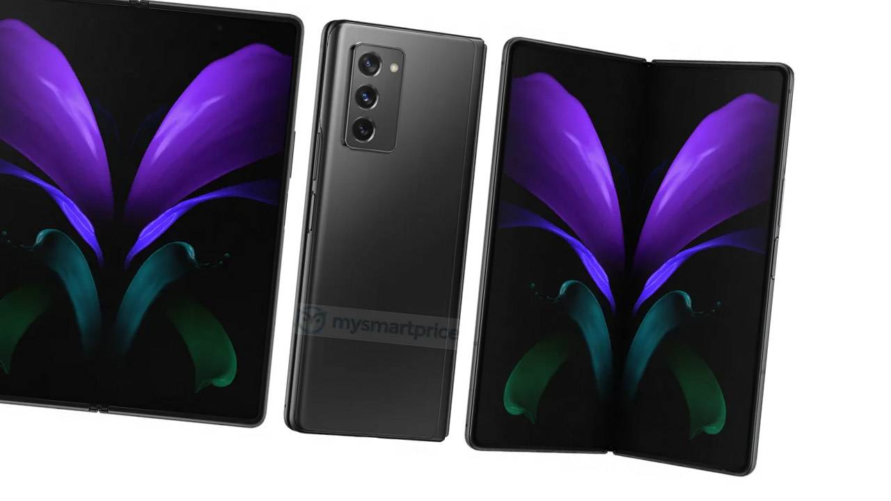 Samsung Galaxy Z Fold 2 5G images leak new details aplenty