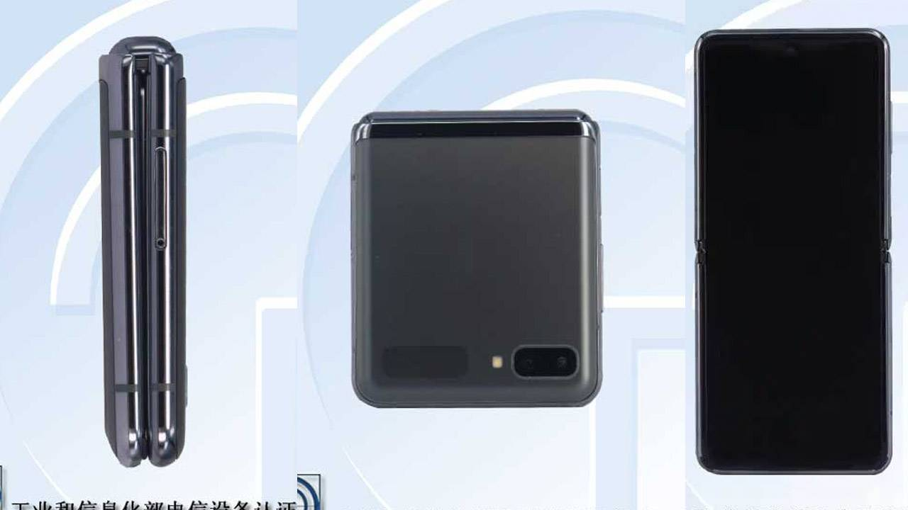 Galaxy Z Flip 5G leaks with familiar next-gen look