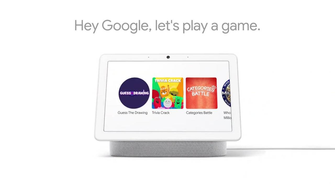Google Assistant Smart Displays can now play audiovisual games