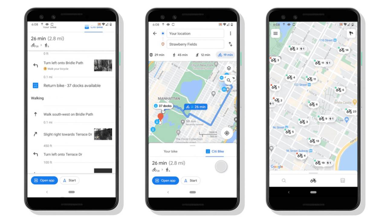 Google Maps just switched on smarter bikeshare navigation