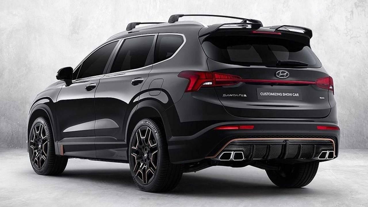 Technische Daten 2021 Hyundai Santa Fe N