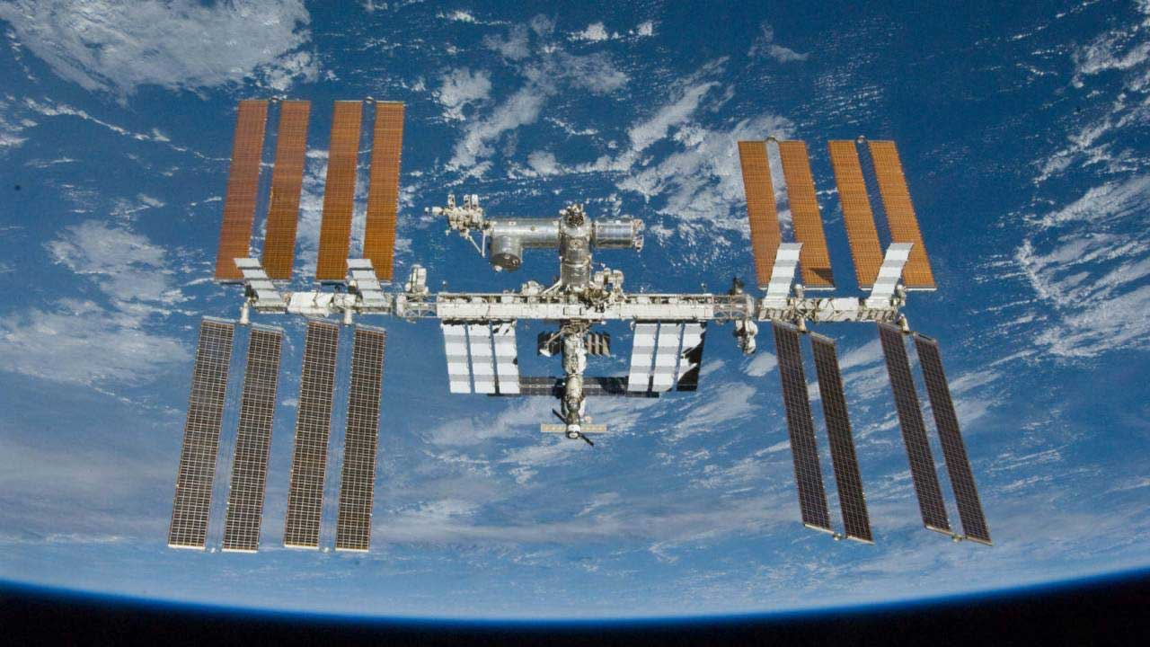 ISS astronauts replace aging batteries in the latest ISS spacewalk