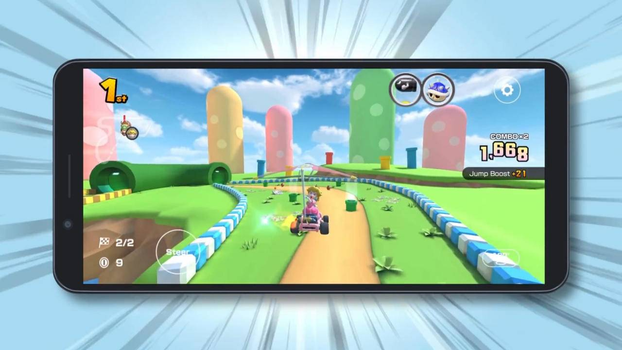 Mario Kart Tour mobile game finally gets a landscape mode