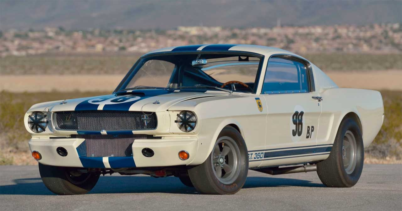 1965 Ford Mustang Shelby GT350R driven by Ken Miles sets an auction record