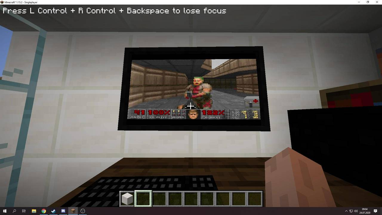 Minecraft VM mod lets you boot Windows 95 to play DOOM