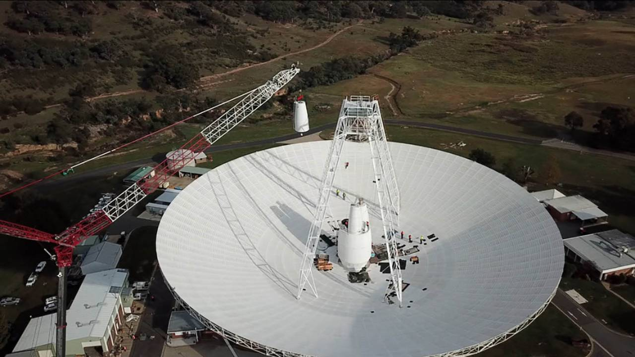 NASA is upgrading its massive deep space antenna in Australia