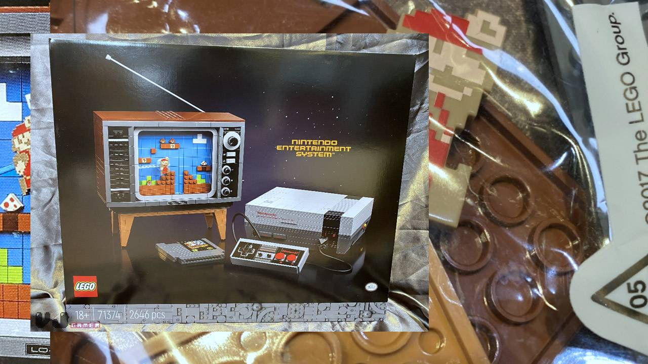 LEGO Nintendo (NES) leaked with controller, cartridge, and tiny TV