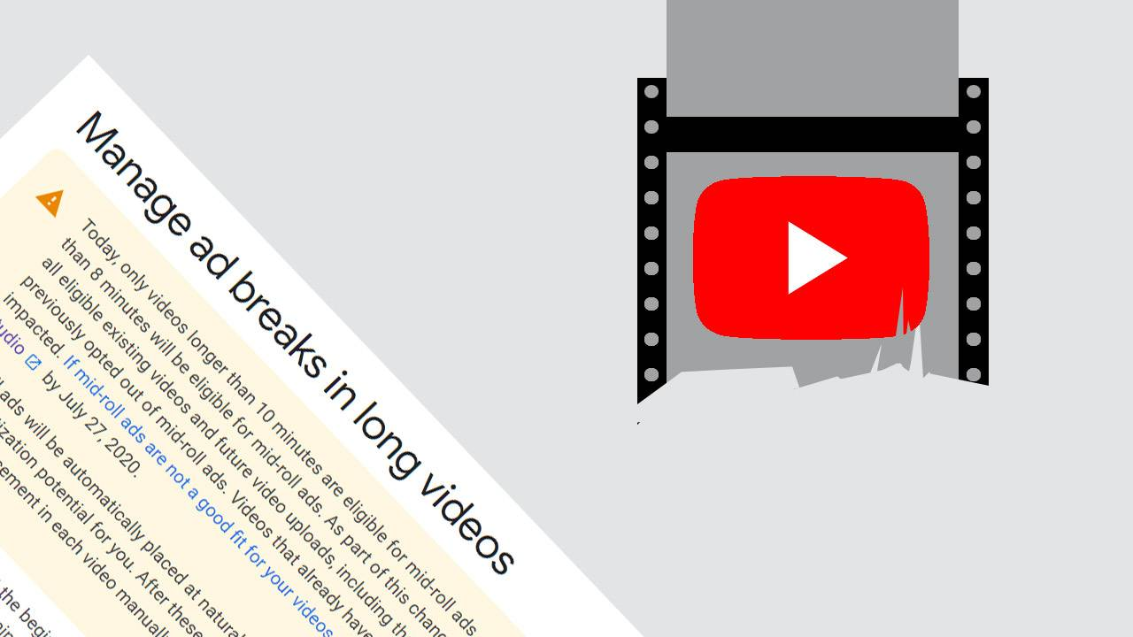 YouTube adds (mid-roll) ads to long videos by default [UPDATE: how to opt-out]