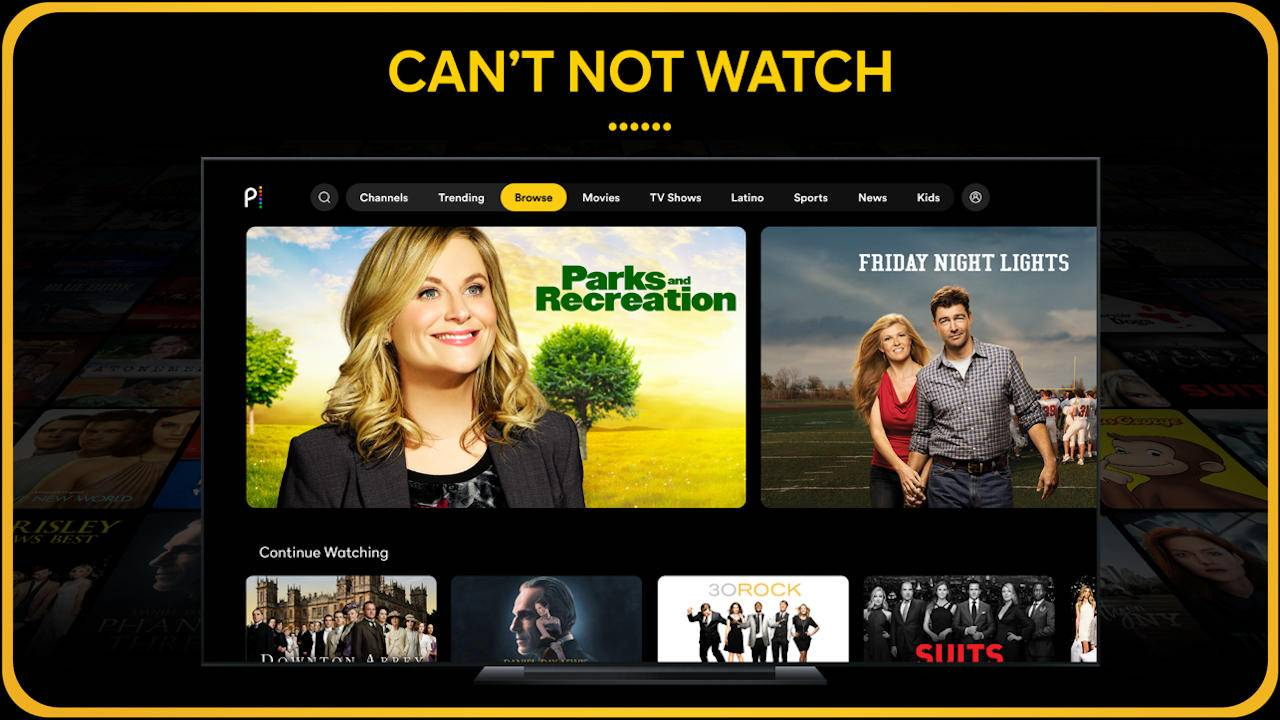NBC Peacock streaming service is now available