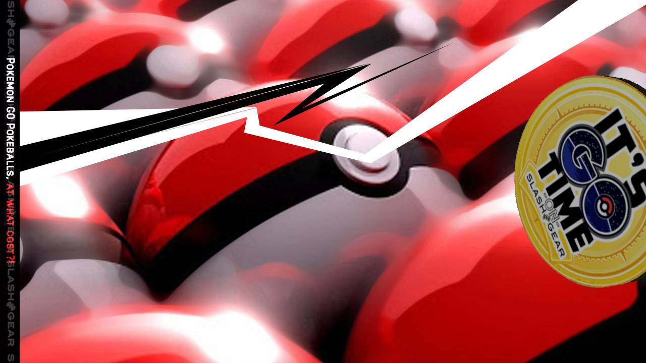 Pokemon GO Pokeball gifts in question