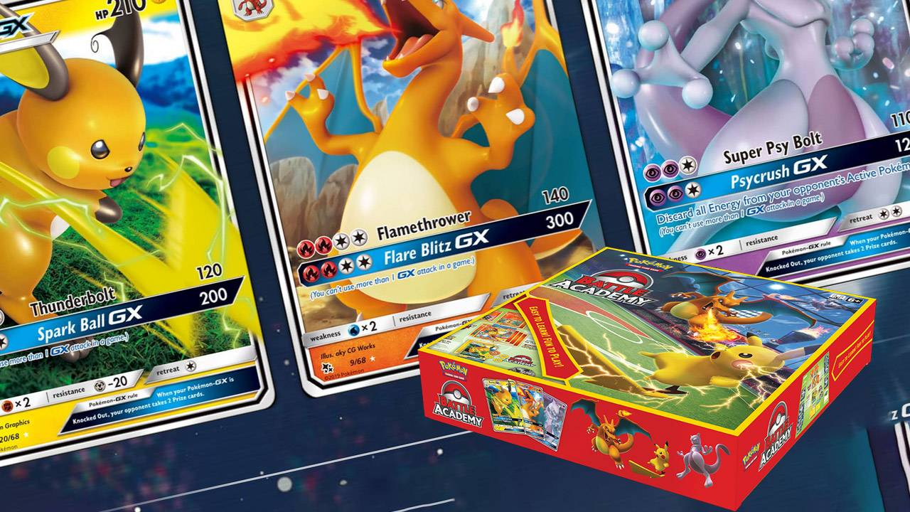 Pokemon TCG Battle Academy released to stores