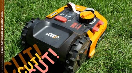 WORX Landroid M robotic mower Review : Automatic electronic yard care