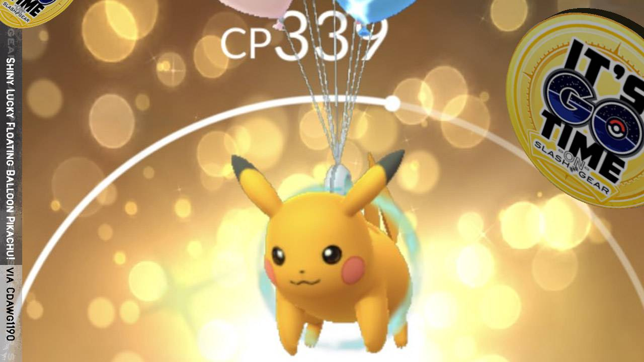 Shiny Pokemon GO watch list today: Party Hats, Balloons, Flying types