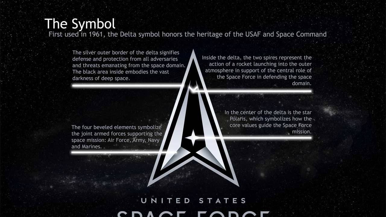Official US Space Force logo and motto revealed