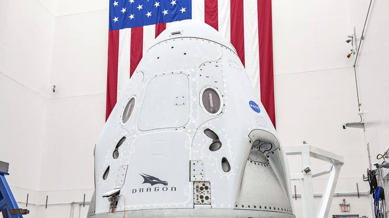 NASA weighs SpaceX Crew Dragon return delay over stormy splashdown sites