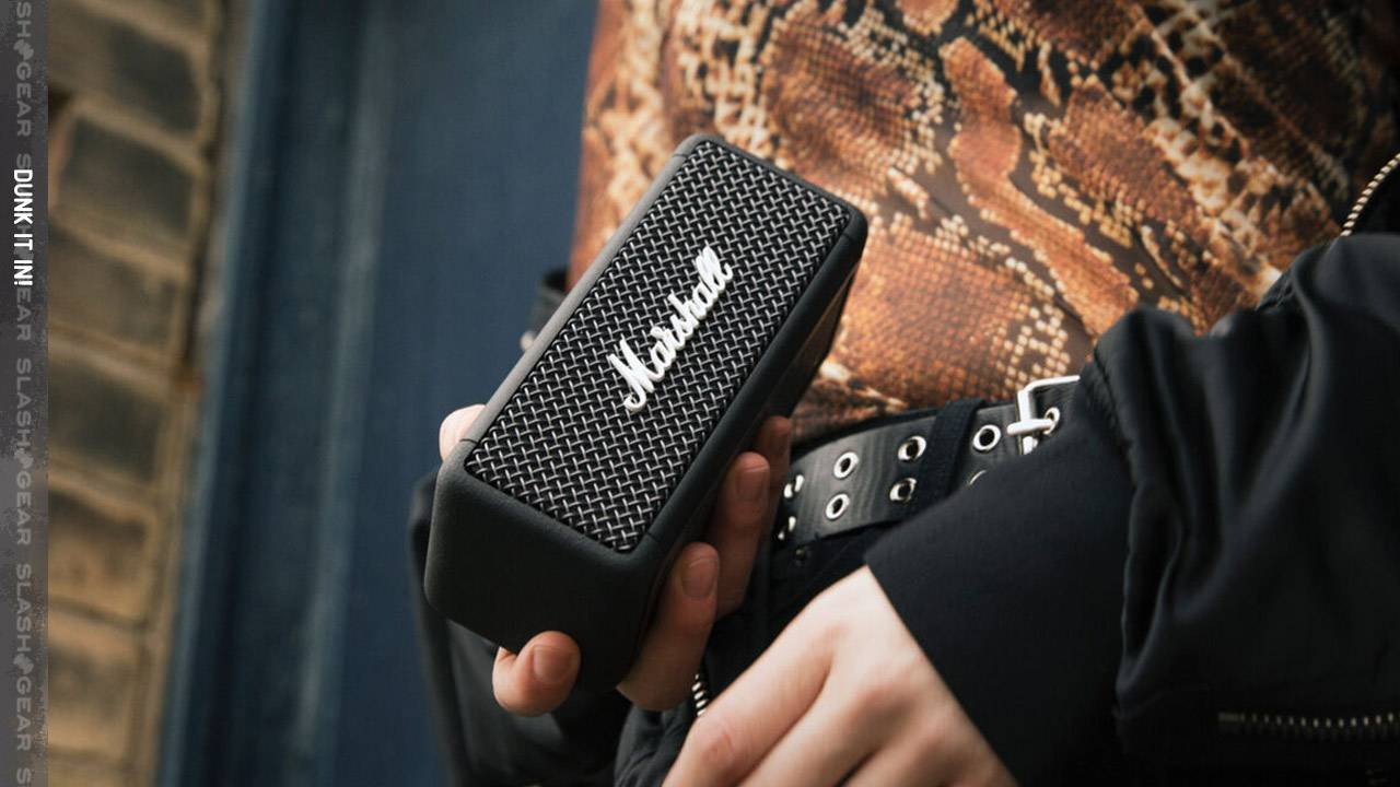 Marshall Emberton is a new waterproof speaker with a retro look