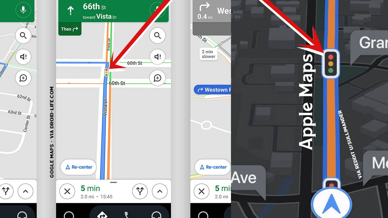 Google Maps traffic lights update released to Android