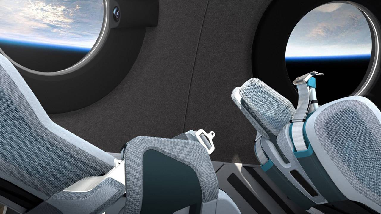 Virgin Galactic SpaceShip Two cabin reveal: Let's look inside!